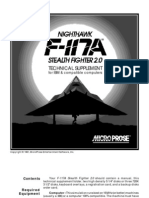 F117A Technical Supplement