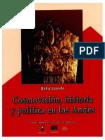 Cosmovisión, historia y política en los Andes B Lozada