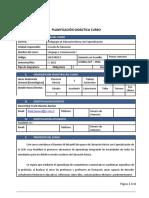 Planificación Didáctica Lenguaje y Comunicación i