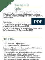 As Organizações e sua Administração- Parte III