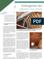 Aménagement des espaces sous toiture