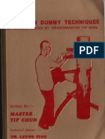 Wing Tsun Wooden Dummy Techniques  The Book