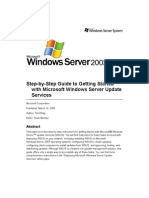 WSUS Deployment Guide