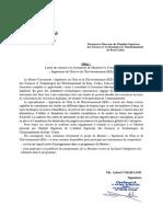 Lettre d'Appui (1)