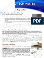 Dulux 1.1.2 Mild Steel - Surface Preparation