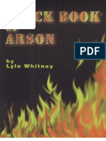 Black Book of Arson - Lyle Whitney
