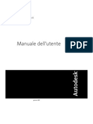 Autocad 2008 Manuale Completo Ita