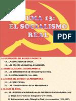 13.- El Socialismo Real