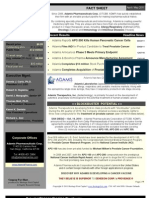 Adamis Investor Factsheet
