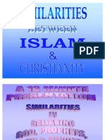 Similarities Between Islam & Christianity