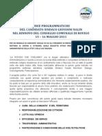 Programma Giovanni Nalin - Comune Rovigo