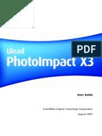 PhotoImpact X3 User Guide