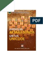 Direktori Aksara Sunda Untuk Unicode