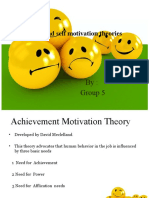 Achievers and self motivation theories