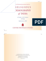 Change in Religious Demography of India