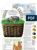 Ideas for an eco-friendly Easter