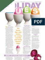 Egg dyeing ideas