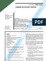 NBR5676 avaliação de imóveis urbanos
