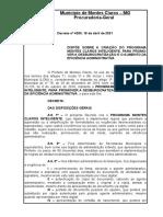 Decreto 4200 - Montes Claros Inteligente