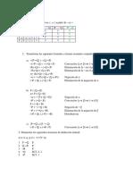Ejercicios lógica 1, deducción natural, FNC, FND.