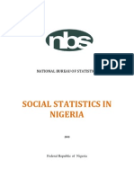 Social Statistics in Nigeria 2009