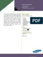 Spec HWC560S Datasheet