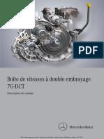 Boite de vitesse  double embrayage mercedes (1)