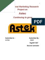 astec report