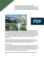 Arsitektur hijau adalah suatu pendekatan perencanaan bangunan yang berusaha untuk meminimalisasi berbagai pengaruh membahayakan pada kesehatan manusia dan lingkungan
