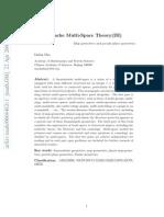 Smarandache Multi¸-Space Theory(III) -Map geometries and pseudo-plane geometries, by Linfan Mao