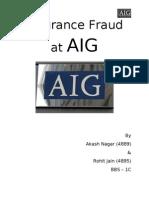 AIG fraud