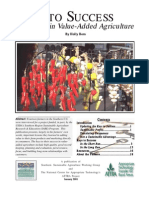 Keys to success in value added ag