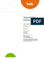 Payroll outsourcing services request for information