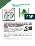 BOGOTÁ SE UNE A LA CELEBRACIÓN DE LA TIERRA  2011 PDF