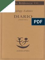 Diario 1910-11 Lukacs