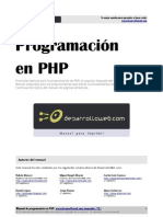 manual de programacion php