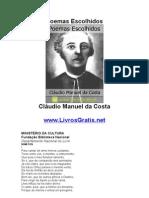 Poemas Escolhidos - Cláudio Manuel da Costa-www.LivrosGratis.net