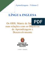 OADs Trilhas 2 Língua Inglesa