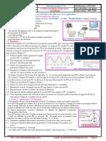 Série d'Exercices 2 , Ondes Mécaniques Progressives Périodiques , 2BAC BIOF , SM , PC Et SVT , Pr JENKAL RACHID