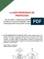 Planos Principales de Proyeccion Ejemplos