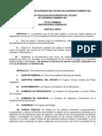 Ley de Fiscalización Superior del Estado de Guerrero