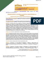 Ciberperiodismo y portales económicos especializados en finanzas