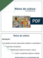Microbiologia Clínica - Meios de Cultura