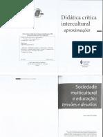 CANDAU_Didática crítica intercultural - aproximações