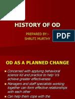 HISTORY OF OD