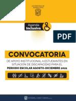 Apoyos Estudiantes Discapacidad Ugto 2021