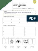 DIAGNOSTICA 2° basico lenguaje