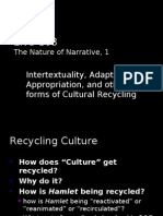 Cultural Recycling