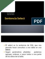 Sentencia Select