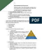 Resumen Responsabilidad Social Empresarial
